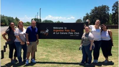 Representación de Agencias de viajes Norteamericanas visitan Argentina Polo Day