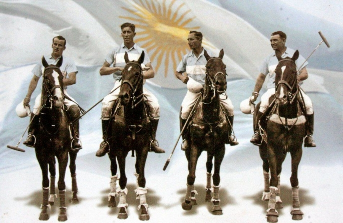 Olympic medal for the Argentine Polo