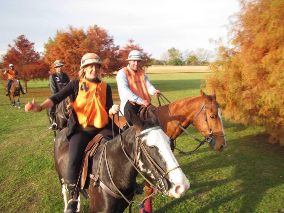 andar a caballo