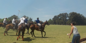 Creating Memories. ARGENTINA POLO DAY!