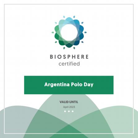 Primera empresa argentina con Certificado Biosphere