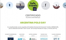 Argentina Polo Day receives the Safe Travels certificate