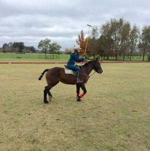 Clare from the UK came for the Polo Day and came back for the Polo Holidays!