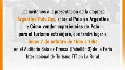 Capacitación de Polo en Argentina en la Feria Internacional de Turismo