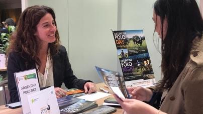 Argentina Polo Day presenta sus servicios en la Feria Internacional de Turismo
